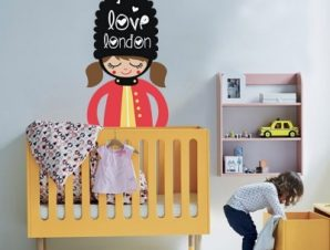 Love London Παιδικά Αυτοκόλλητα τοίχου 55 x 33 cm