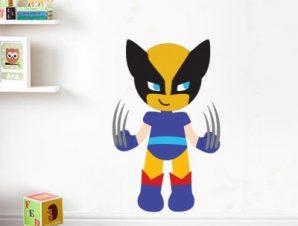 Logun Boy Παιδικά Αυτοκόλλητα τοίχου 31 x 50 εκ.