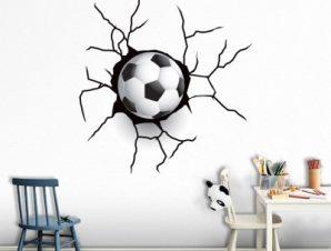 Μπάλα Παιδικά Αυτοκόλλητα τοίχου 38 x 35 cm
