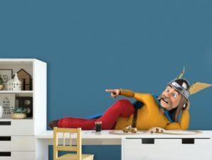Ο Αστερίξ Παιδικά Αυτοκόλλητα τοίχου 65 x 28 εκ.