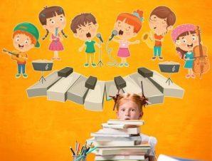 Πλήκτρα πιάνου Παιδικά Αυτοκόλλητα τοίχου 70 x 35 εκ.