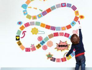 Φιδάκι σιδηρόδρομος Παιδικά Αυτοκόλλητα τοίχου 115 x 122 εκ.