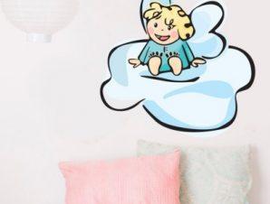 Αγγελάκι Παιδικά Αυτοκόλλητα τοίχου 40 x 40 cm