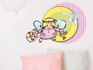 Νεραϊδούλα Παιδικά Αυτοκόλλητα τοίχου 50 x 34 εκ.