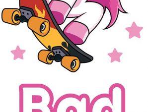 Διακοσμητικά αυτοκόλλητα τοίχου Bad Girl XS