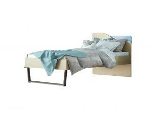 """Παιδικό κρεβάτι """"ΤΟΞΟ"""" μονό σε χρώμα δρυς-σιελ 90×190"""
