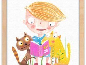 Το βιβλίο Παιδικά Πίνακες σε καμβά 40 x 40 εκ.