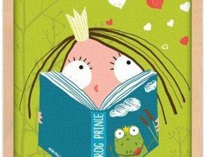 Διαβάζοντας παραμύθι Παιδικά Πίνακες σε καμβά 20 x 30 εκ.