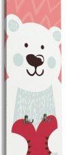 Xαριτωμένο Αρκουδάκι Παιδικά Κρεμάστρες & Καλόγεροι 45 x 138 εκ.