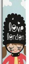 Love London Παιδικά Κρεμάστρες & Καλόγεροι 45 x 138 εκ.