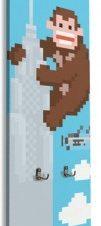 King Kong Παιδικά Κρεμάστρες & Καλόγεροι 45 x 138 εκ.