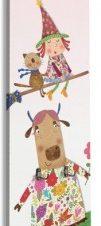Μικρή μάγισσα Παιδικά Κρεμάστρες & Καλόγεροι 45 x 138 εκ.