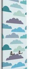 Συννεφάκια Παιδικά Κρεμάστρες & Καλόγεροι 45 x 138 εκ.