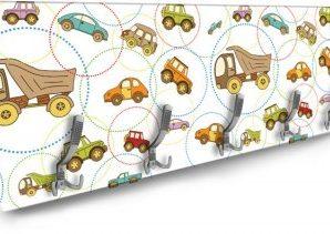 Αυτοκινητάκια Παιδικά Κρεμάστρες & Καλόγεροι 138 x 45 εκ.