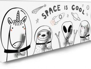 Space Animals Παιδικά Κρεμάστρες & Καλόγεροι 138 x 45 εκ.