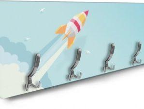 Πύραυλος Παιδικά Κρεμάστρες & Καλόγεροι 138 x 45 εκ.