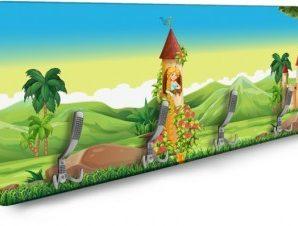 Ραπουνζέλ Παιδικά Κρεμάστρες & Καλόγεροι 138 x 45 εκ.