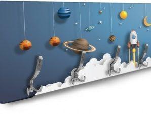 Διάστημα Παιδικά Κρεμάστρες & Καλόγεροι 138 x 45 εκ.