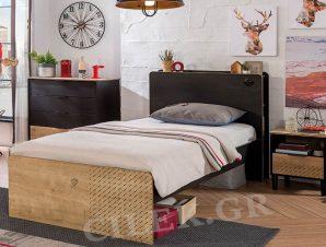 Παιδικό κρεβάτι ημίδιπλο BL-1303 USB CHARGING – BL-1303 USB CHARGING