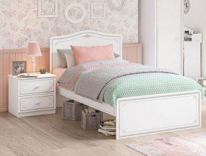 Παιδικό κρεβάτι ημίδιπλο SE-GREY-1302
