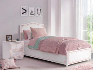 Παιδικό κρεβάτι με αποθηκευτικό χώρο SE-PINK-1705