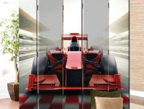 Formula1 Παιδικά Παραβάν 80×180 cm [Δίφυλλο]