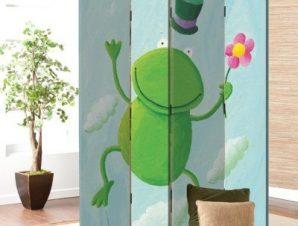 Βατραχάκι Παιδικά Παραβάν 80 x 180 εκ. [Δίφυλλο]