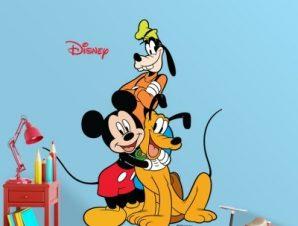 Mickey & friends Παιδικά Αυτοκόλλητα τοίχου 30 x 35 εκ.