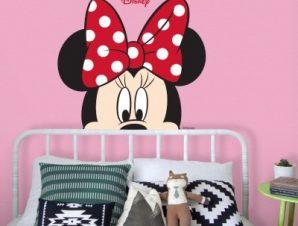 Beautiful Minnie Παιδικά Αυτοκόλλητα τοίχου 35 x 32 εκ.