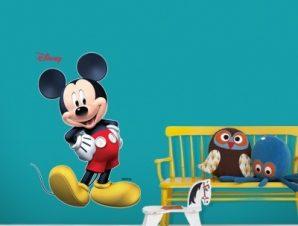 Mickey Mouse ….3d Παιδικά Αυτοκόλλητα τοίχου 30 x 42 εκ.