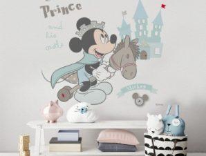 Μικρός πρίγκιπας, Μίκυ Μάους Παιδικά Αυτοκόλλητα τοίχου 50 x 45 εκ.