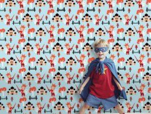 Ιππότης πρίγκιπας Παιδικά Ταπετσαρίες Τοίχου 100 x 100 εκ.